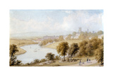 River Dee and St John's Church, 19th Century Giclee Print by William Westall