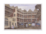 Bull and Mouth Street, London, 1806 Giclee Print by Valentine Davis