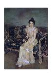 Portrait of Sofia Mikhailovna Botkina, 1899 Giclee Print by Valentin Serov