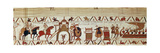 Bayeux Tapestry, 1070S Reproduction procédé giclée