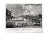 Edwinsford, the Seat of R Banks Hodgkinson Esq, Carmarthenshire, 1776 Giclee Print by William Watts