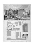 Holy Trinity Priory, City of London, 1826 Giclee Print by William Taylor