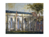 View of Temple Church, London, C1810 Giclee Print by William Pearson