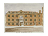 Front View of Blackwell Hall, City of London, 1806 Giclee Print by Valentine Davis