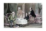Doctor Syntax Making His Will, C1816 Giclee Print by Thomas Rowlandson