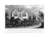 Residence of General Sir Herbert Taylor, Baronet, Regent's Park, London, 1827 Giclee Print by William Tombleson