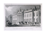 East India House, London, C1829 Giclee Print by William Tombleson