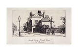 View of the Black Lion Inn, London, 1860 Giclee Print by Walter Greaves