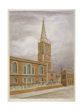Church of St Botolph, Aldgate, City of London, 1806 Giclee Print by Valentine Davis