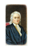 Isaac Newton, English Mathematician, Astronomer and Physicist Giclee Print