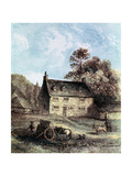 Woolsthorpe Manor Near Grantham, Lincolnshire, Birthplace of Isaac Newton, 1859 Giclee Print