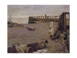 An October Morning, 1885 Giclee Print by Walter Frederick Osborne