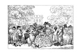 1784, or the Fashions of the Day, 1784 Giclee Print by Thomas Rowlandson