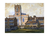 Church of St Matthew, Bethnal Green, London, C1815 Giclee Print by William Pearson