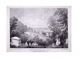 General View of Hampstead, London. 1822 Giclee Print by Thomas Mann Baynes