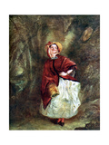 Dolly Varden Giclee Print by William Powell Frith