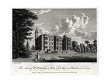The Seat of Sir Thomas Wilson Bart at Charlton in Kent, 1776 Giclee Print by William Watts