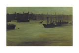 The Pool of London, C1866-1899 Giclee Print by Walter Greaves