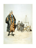 Member of a London Wardmote Inquest in Official Dress, 1808 Giclee Print by William Henry Pyne
