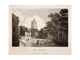 General View of Hackney, London, 1791 Giclee Print by William Ellis