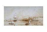 Gravesend, Kent, C1830 Giclee Print by Thomas Mann Baynes
