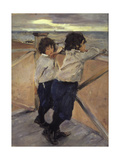 Children, 1899 Giclee Print by Valentin Serov