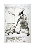 The Westminster Mendicant, 1784 Giclee Print by Thomas Rowlandson