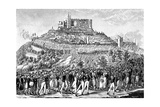 Procession to Hambach Castle on 27th May 1832 Giclee Print
