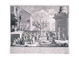 The South Sea Bubble, 1721 Giclee Print by William Hogarth