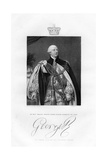 King George III of Great Britain, 19th Century Giclee Print by W Holl