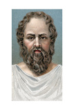 Socrates, Ancient Greek Philosopher, Early 20th Century Giclee Print