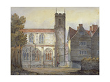 Church of St Katherine by the Tower, Stepney, London, 1815 Giclee Print by William Pearson