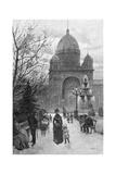 The Carlton Gardens, Melbourne, 1886 Giclee Print by WJ Smedley