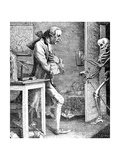 Sterne and Death, 1768 Giclee Print by Thomas Patch