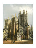 Canterbury Cathedral, Kent, C1870 Giclee Print by WL Walton