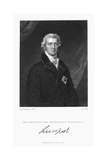 Robert Banks Jenkinson, Earl of Liverpool, British Statesman, 1830 Giclee Print by William Thomas Fry