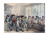 The French Coffee House, Late 18th Century Giclee Print by Thomas Rowlandson
