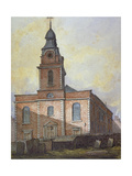Church of St John-At-Wapping, London, C1815 Giclee Print by William Pearson