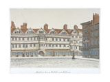 View of Staple Inn and the Buildings of Middle Row in the Centre of Holborn, London, 1850 Giclee Print by Valentine Davis