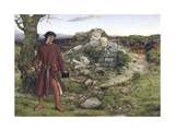 Henry VI at Towton, 1860 Giclee Print by William Dyce