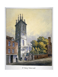 Church of St Mary Somerset, City of London, C1815 Giclee Print by William Pearson
