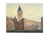 Church of St Michael Bassishaw, City of London, 1815 Giclee Print by William Pearson