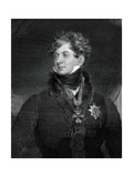 George IV, King of the United Kingdom and Hanover, 1829 Giclee Print by William Ensom