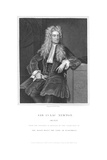 Isaac Newton, English Mathematician and Physicist, 1836 Giclee Print by William Thomas Fry