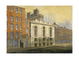 Lombard Street, City of London, 1815 Giclee Print by William Pearson