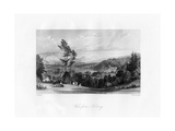 A View from Norbury, Surrey, 19th Century Giclee Print by William Radclyffe