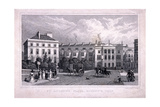 St Andrew's Place, Regent's Park, Marylebone, London, 1828 Giclee Print by William Radclyffe