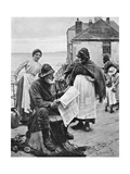 When the Boats are Away, 1903 Giclee Print by Walter Langley