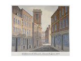 Church of St Clement, Eastcheap, City of London, 1830 Giclee Print by William Pearson