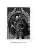 Henry Howard, Earl of Surrey, English Aristocrat and Poet Giclee Print by William Thomas Fry